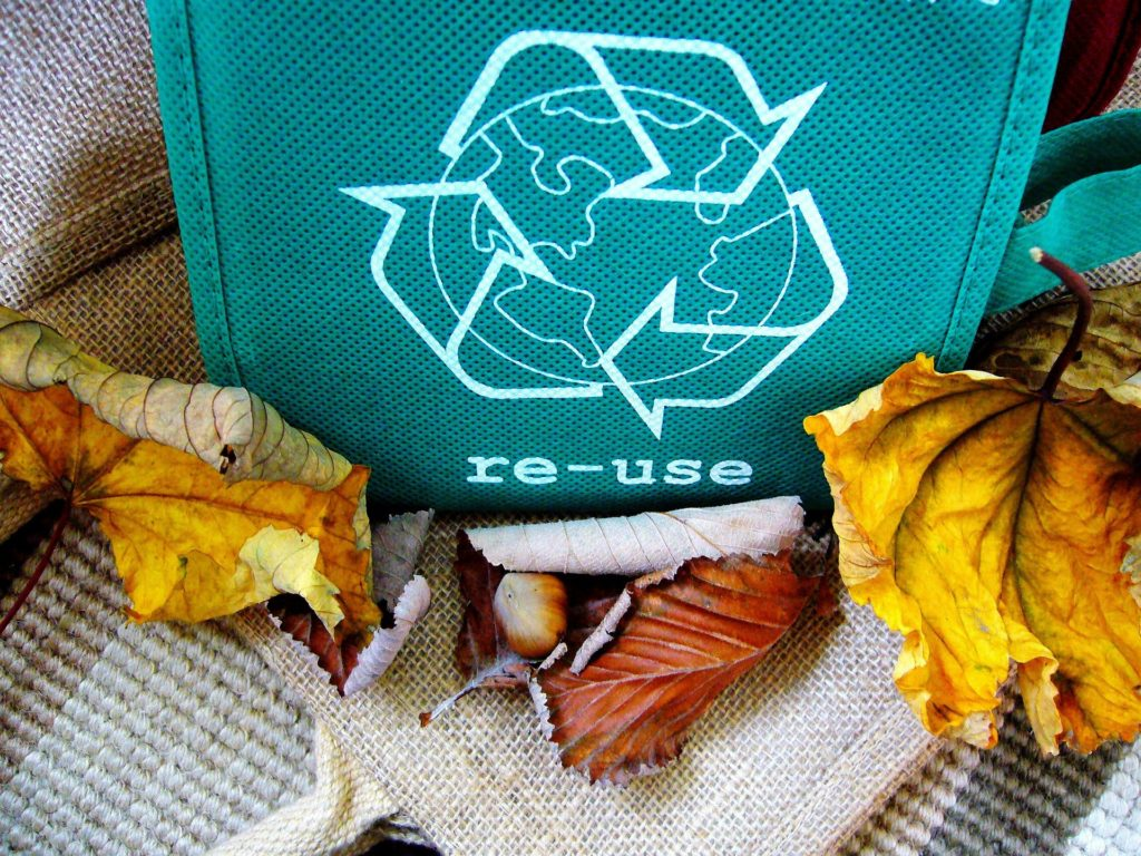 recycle and reduce your carbon footprint